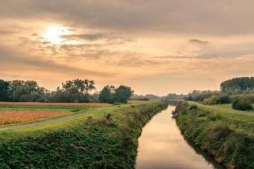 Water op en naast het landbouwbedrijf